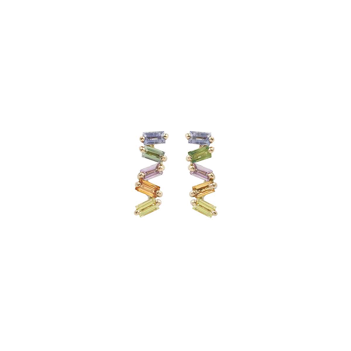 Boucles d'oreilles Rainbow