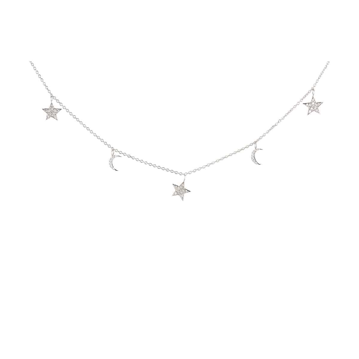Collier Étoile et Lune