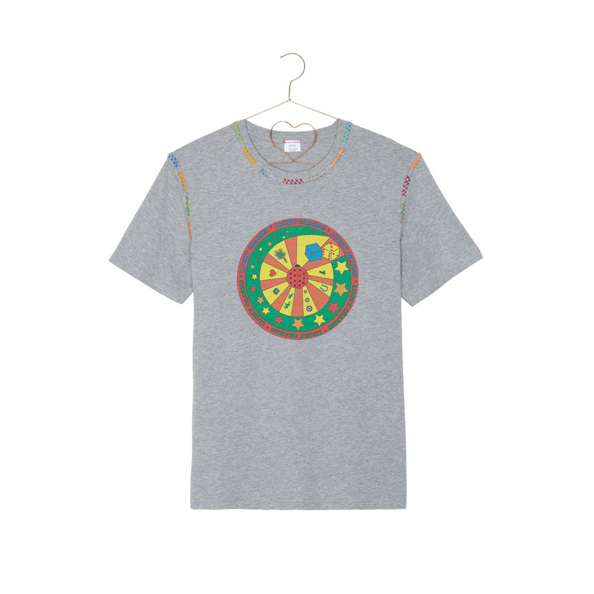 Lucky tee-shirt – Grey