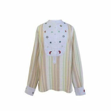 Shirt – Off-White/Kaki