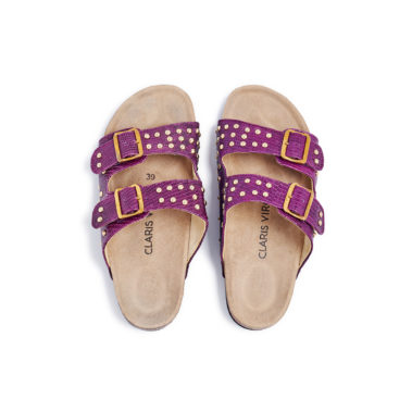 Sandals Lizard Odette Violet