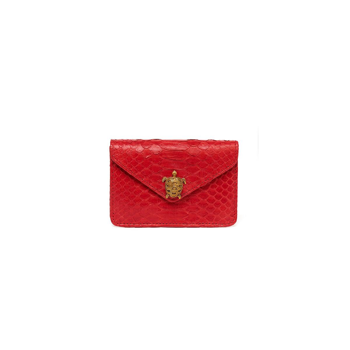 Python Card Holder Red Alex