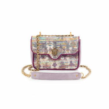 Mini Bag cotton Ava opal