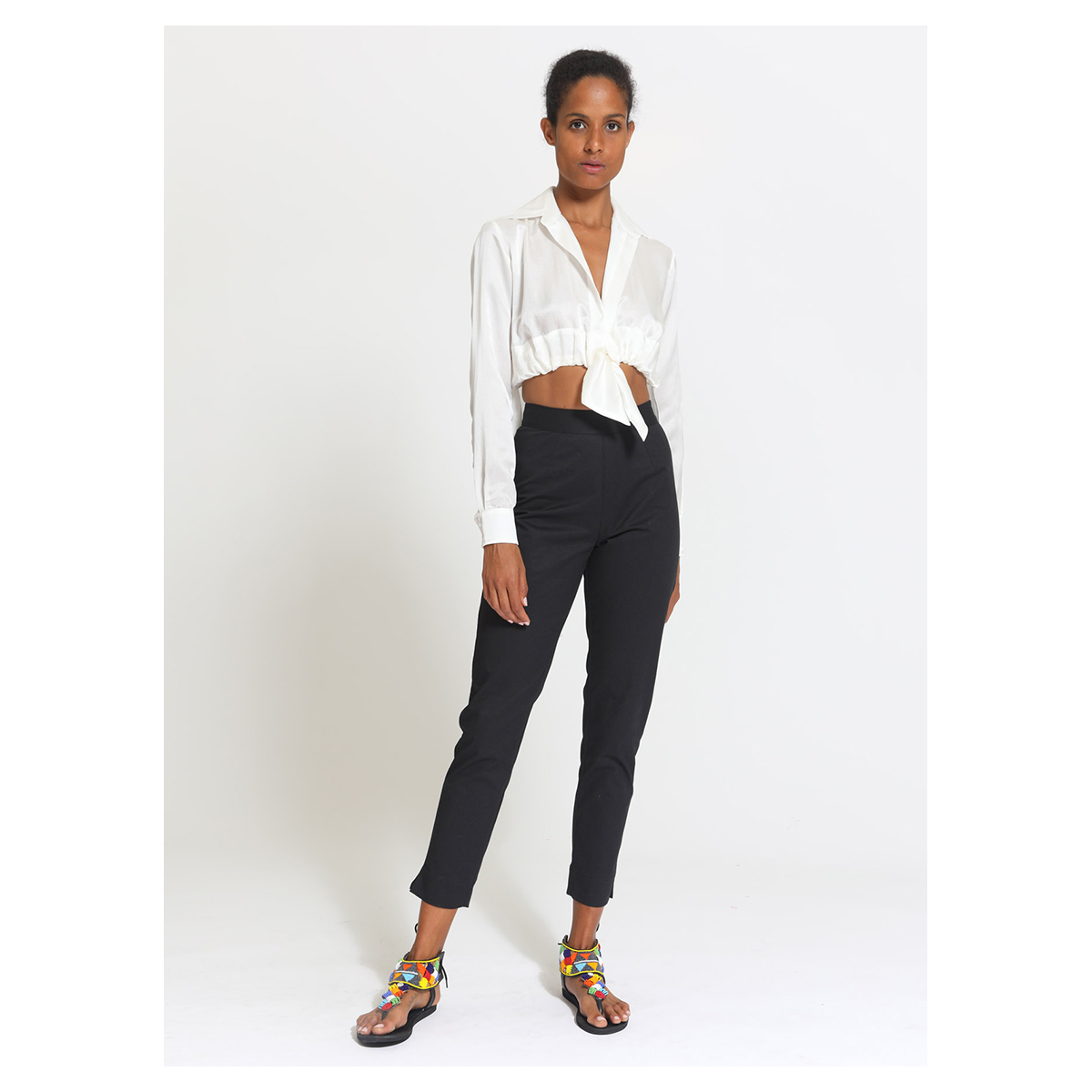 Chica Blouse – White
