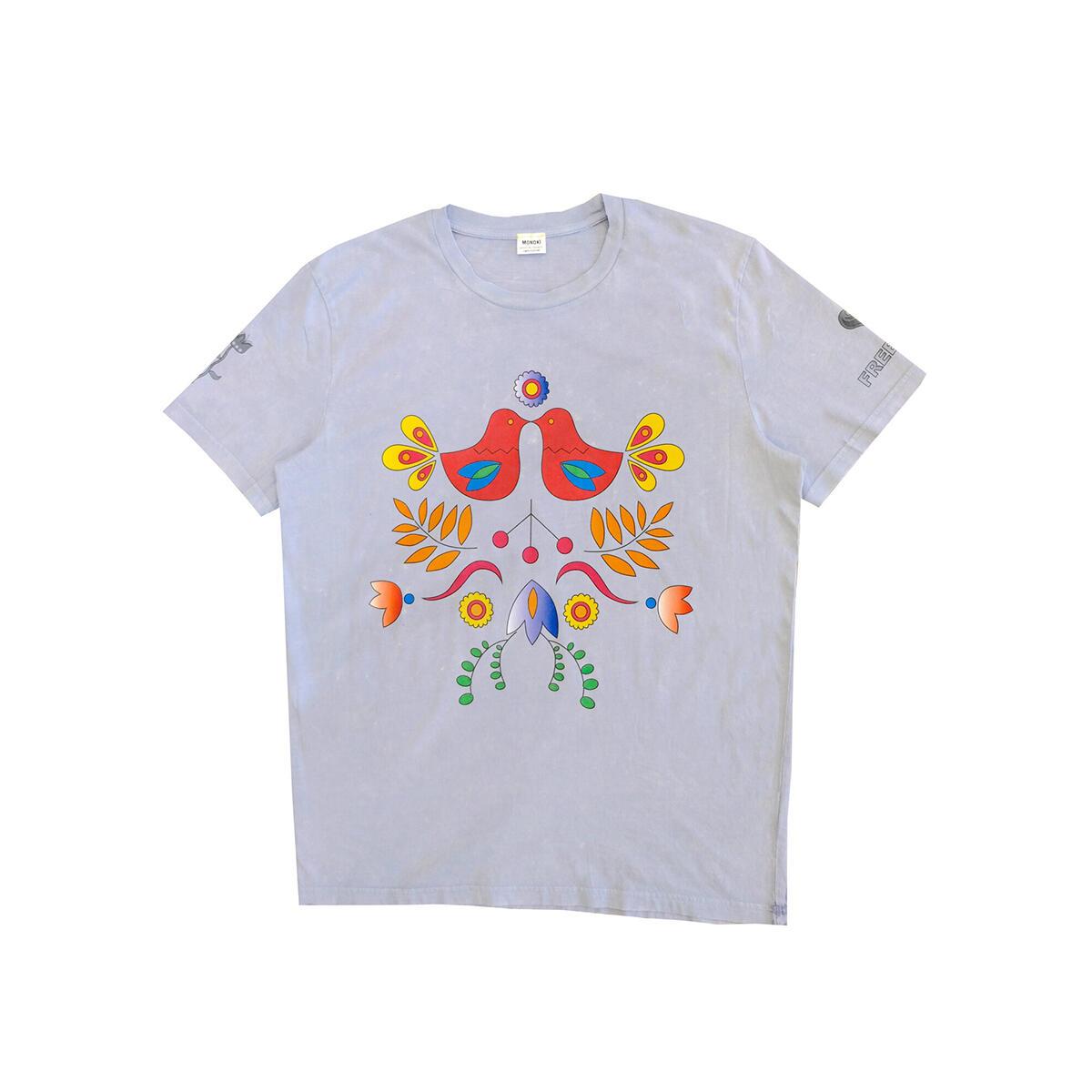 Karma T-Shirt – Sky blue