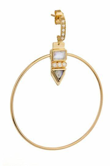 Totem Moonstone Earrings