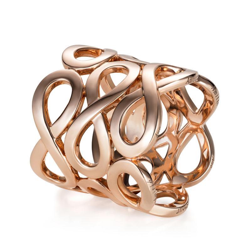 3ternity Ring in 18K Rose Gold