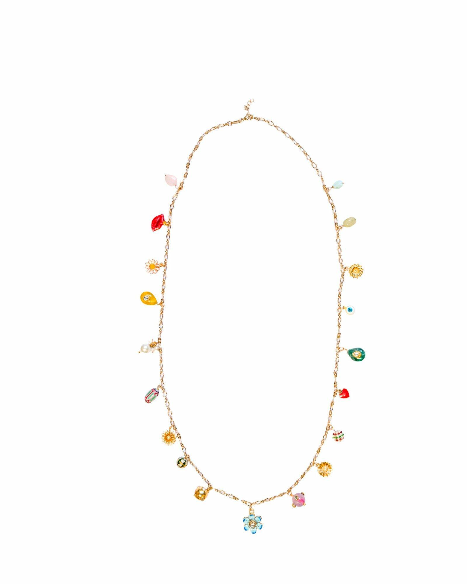 Gris Gris Long Chain Necklace