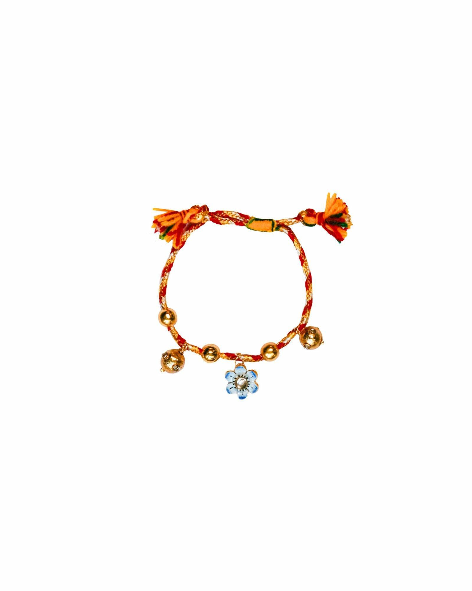 Monoki Joy Bracelet – Red/Yellow/Gold