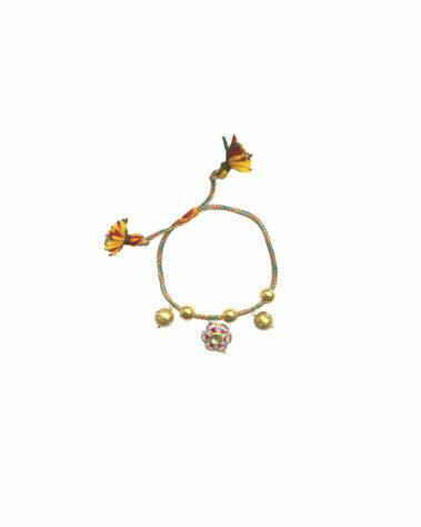 Monoki Joy Bracelet – Blue/Coral/Gold