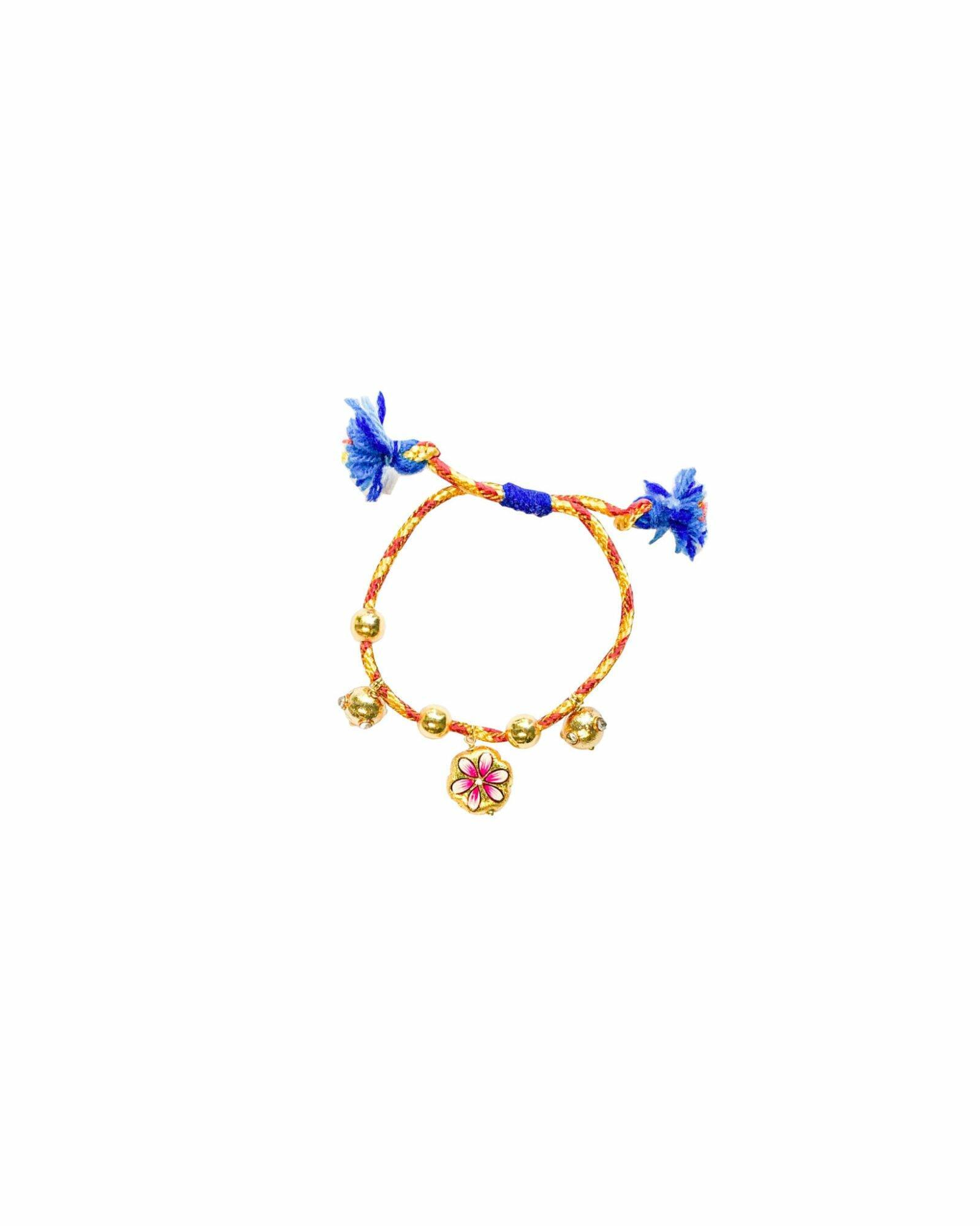 Monoki Joy Bracelet – Brown/Yellow/Gold