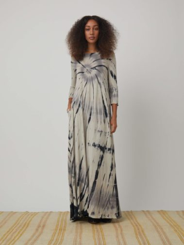 Drama Maxi Dress TD – Shadow Spiral
