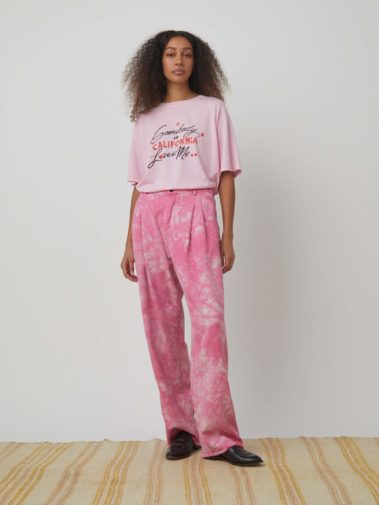 Washed Trouser TD – Pink
