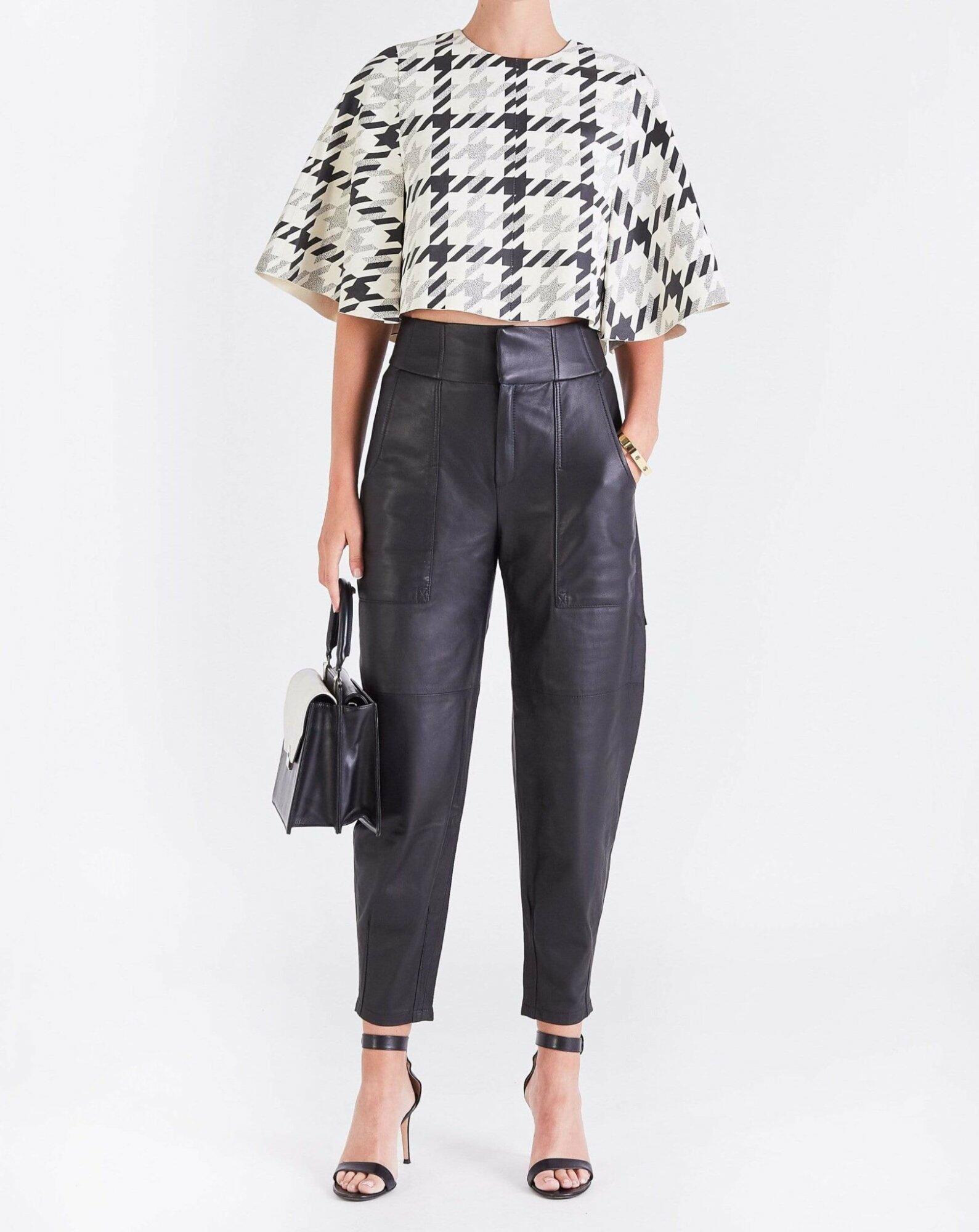 Tatjana Leather Trousers