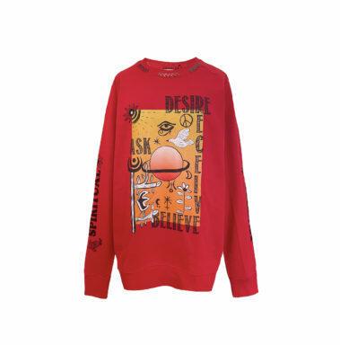 Sweatshirts Desire – Red