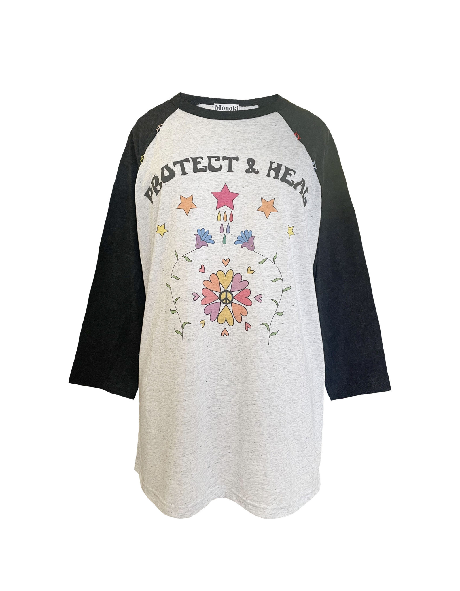 Baseball Tee Shirt – Black