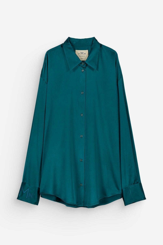 Chloé Silk Shirt – Green