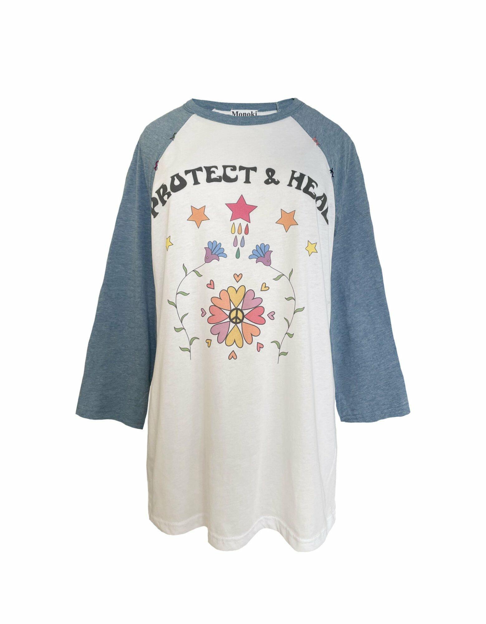 Baseball Tee Shirt – Blue