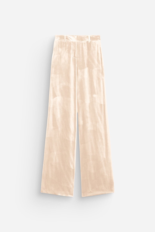 Ella Trousers – Coquille Velvet